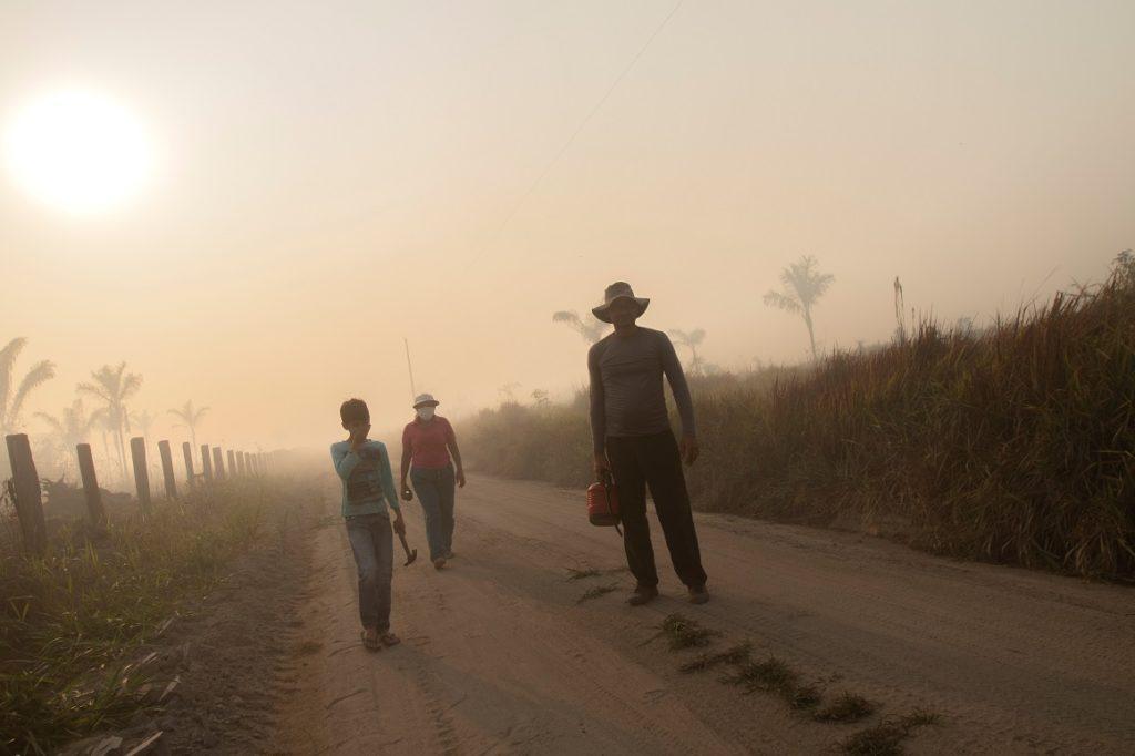 Brasil arresta a tres sospechosos de causar incendios en la Amazonía