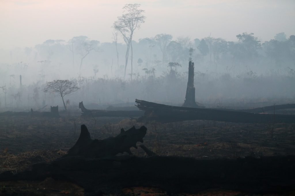 Bolsonaro reduce fondos de agencia ambiental de Brasil, mientras incendios continúan
