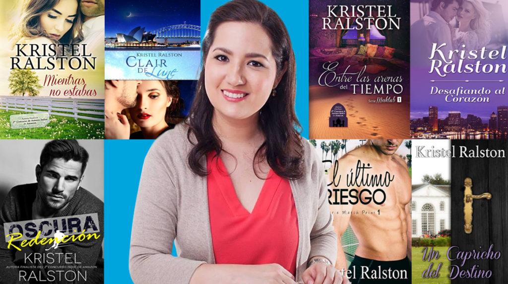 Kristel Ralston vive de la novela romántica