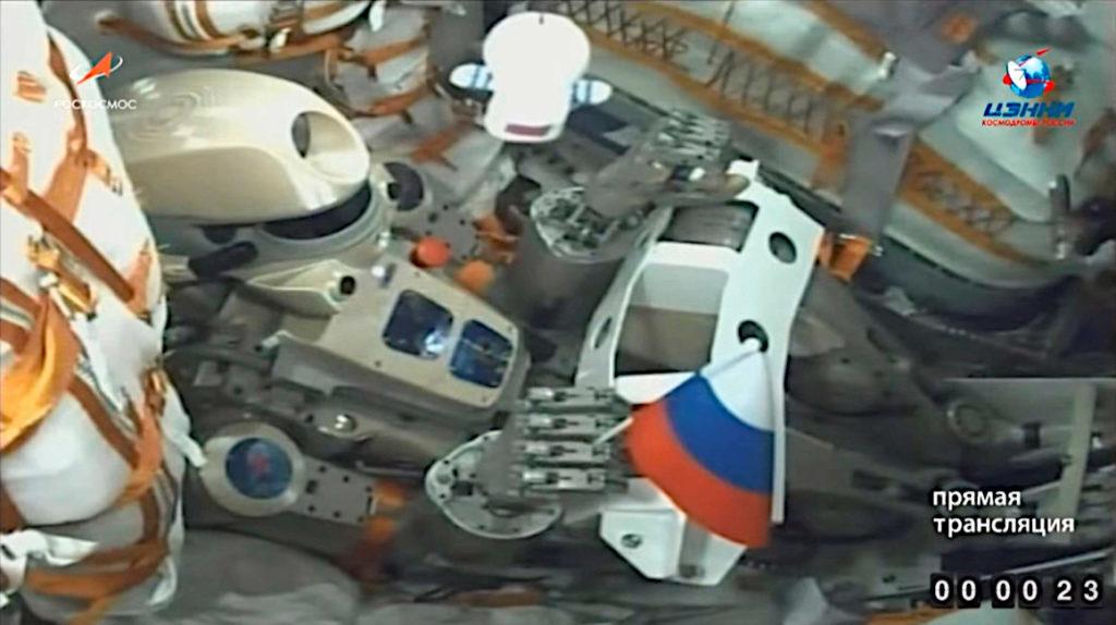 El androide ruso Fiódor llegó por fin a la estación espacial internacional