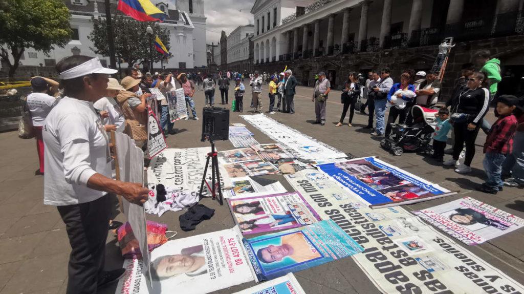 """""""En Ecuador rastrear a un desaparecido es como buscar cualquier objeto"""""""