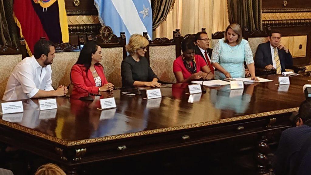 Fiscalía y Consejo de la Judicatura se unen al Plan Más Seguridad en Guayaquil