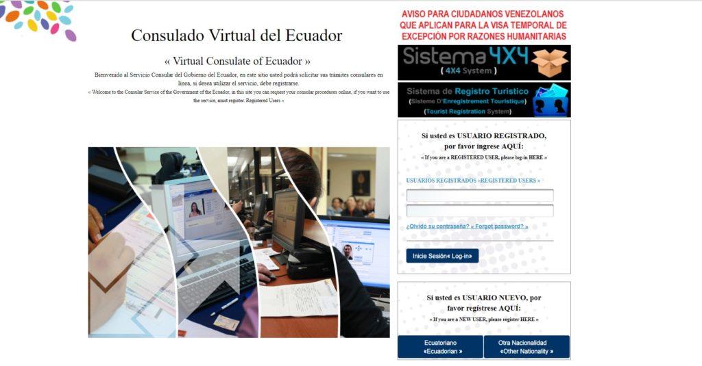 Ecuador da inicio a la emisión de visas humanitarias para venezolanos