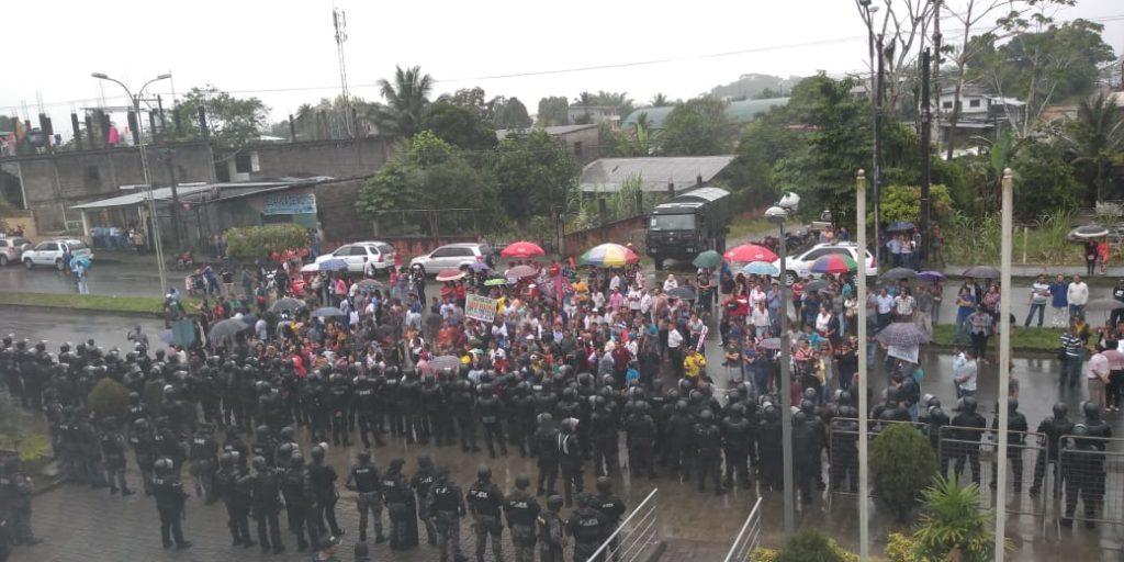 Ministerio de Energía reportó intento de sabotaje en bloque petrolero en Sucumbíos