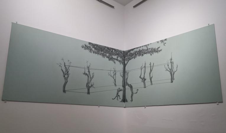 Parte de 'El sendero de los rosales', de Lisbeth Carvajal