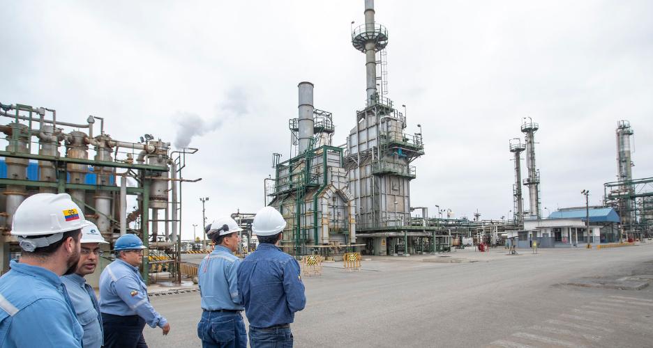 La producción petrolera se recuperó en los primeros siete meses de 2019