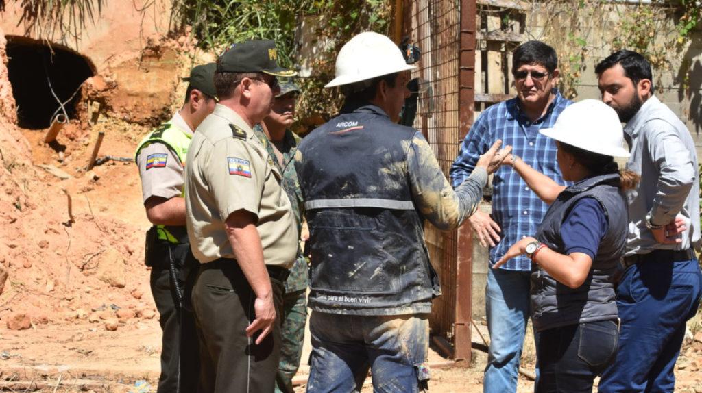 Zaruma en alerta por retorno de la minería ilegal en el casco urbano