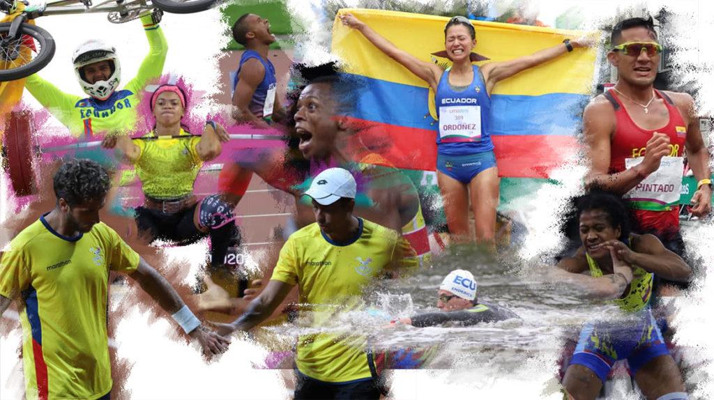 Ecuador celebra a sus campeones y mira con ilusión hacia Tokio 2020