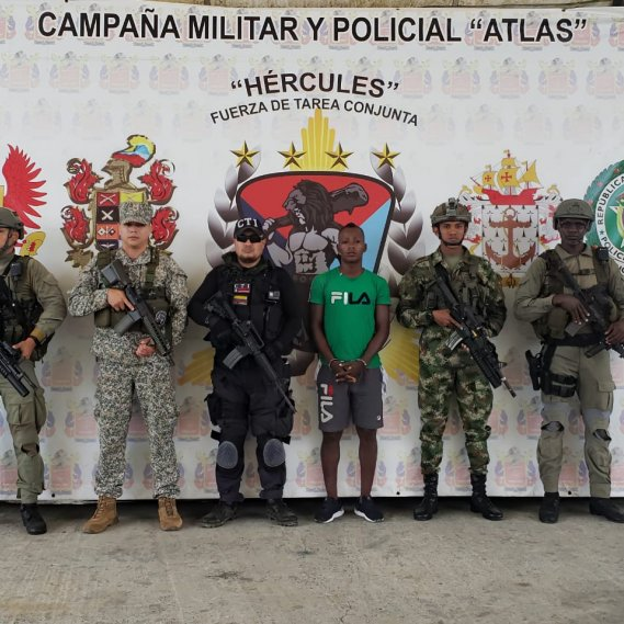 Colombia captura a integrante del frente Oliver Sinisterra, implicado en asesinato de ecuatorianos