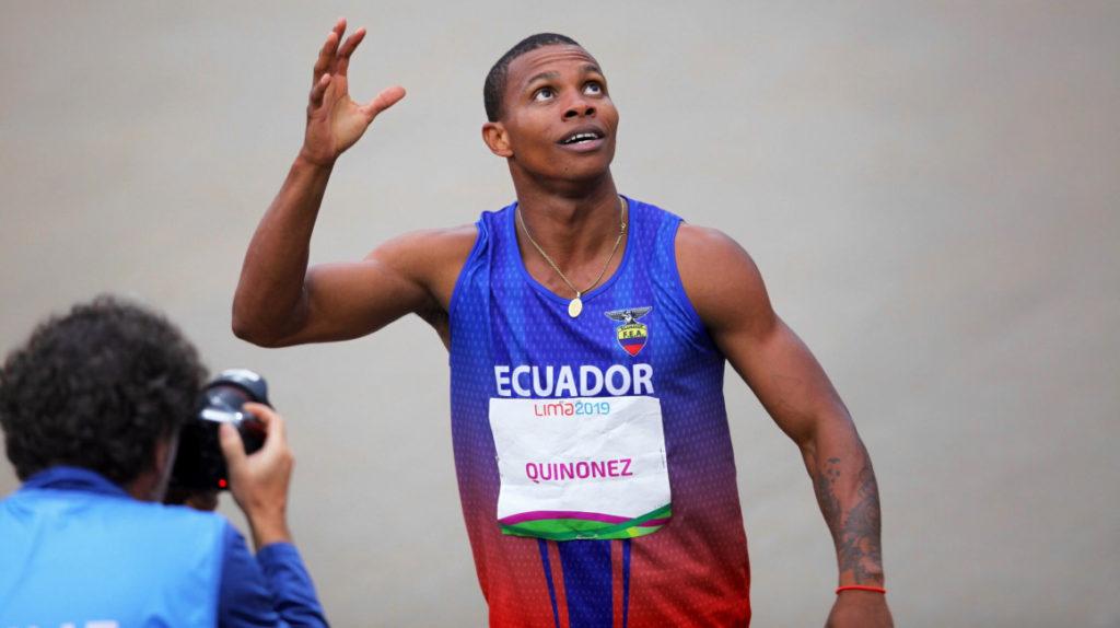 Álex Quiñónez, el 'más rápido' en los Juegos Panamericanos Perú 2019