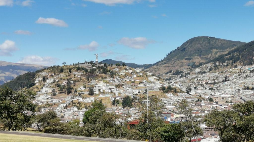 En nueve fotos: el verano azul de Quito