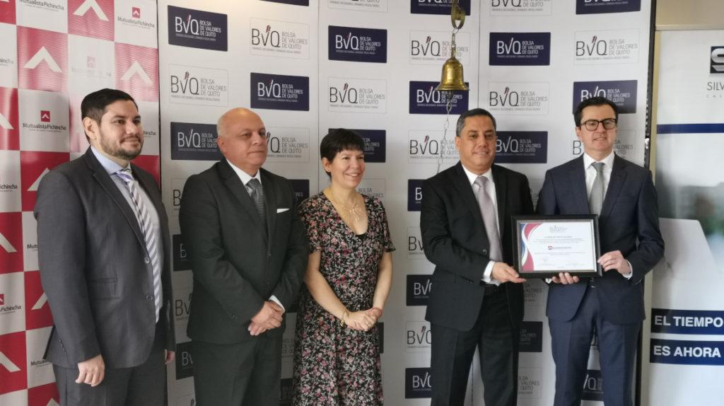 Mutualista Pichincha lanza una titularización de cartera hipotecaria por USD 15 millones