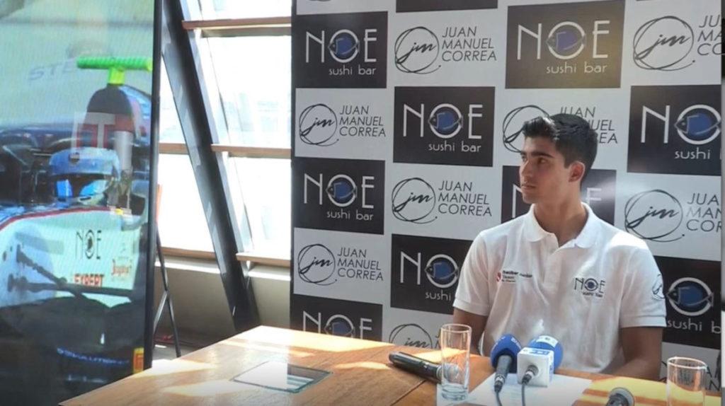 Alfa Romeo probará al piloto ecuatoriano Juan Manuel Correa