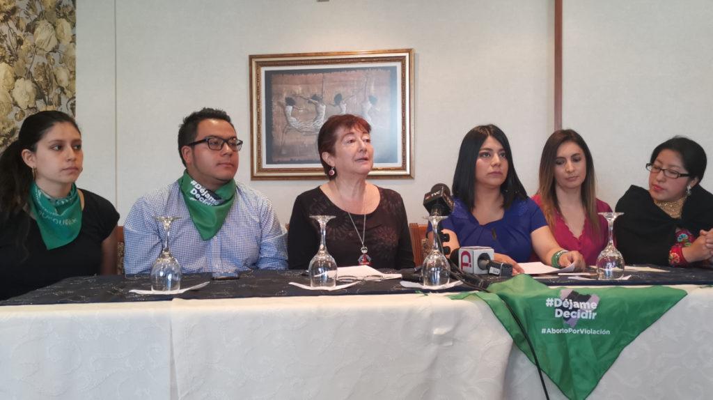 Colectivos insisten en la despenalización del aborto por casos de violación