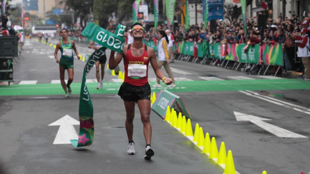 El marchista Daniel Pintado da una nueva medalla de oro a Ecuador en los Juegos Panamericanos