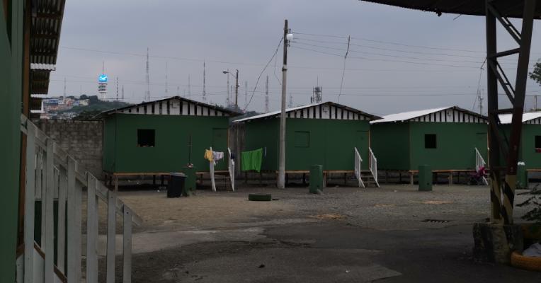 El programa Un Techo para el Camino permite a los migrantes tener un lugar de estancia por hasta 15 días. Tiene capacidad para 136 personas.