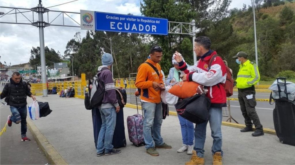 """""""Seguiremos las reglas que el gobierno ha impuesto"""", dicen inmigrantes que quieren quedarse en Ecuador"""