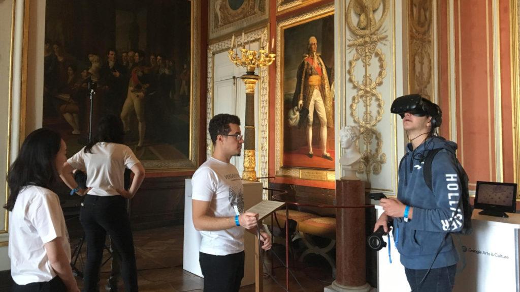 El Palacio de Versalles abre sus puertas a la realidad virtual