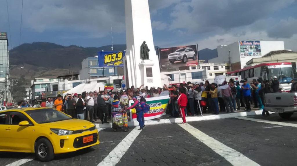 Gobierno apacigua los ánimos en Carchi, pero el paro se mantiene
