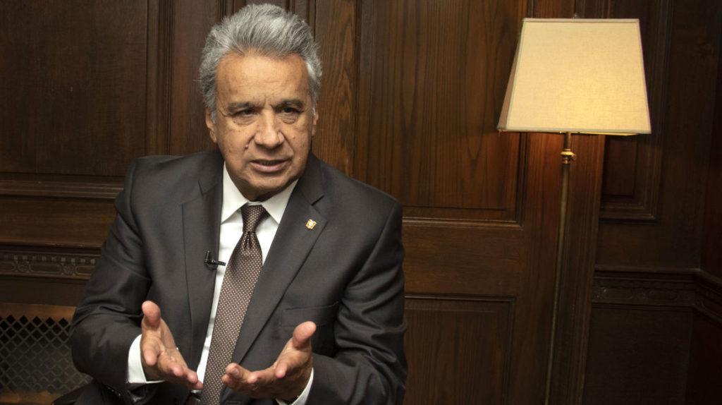 Moreno estará en Quito durante el paro promovido por las organizaciones sociales