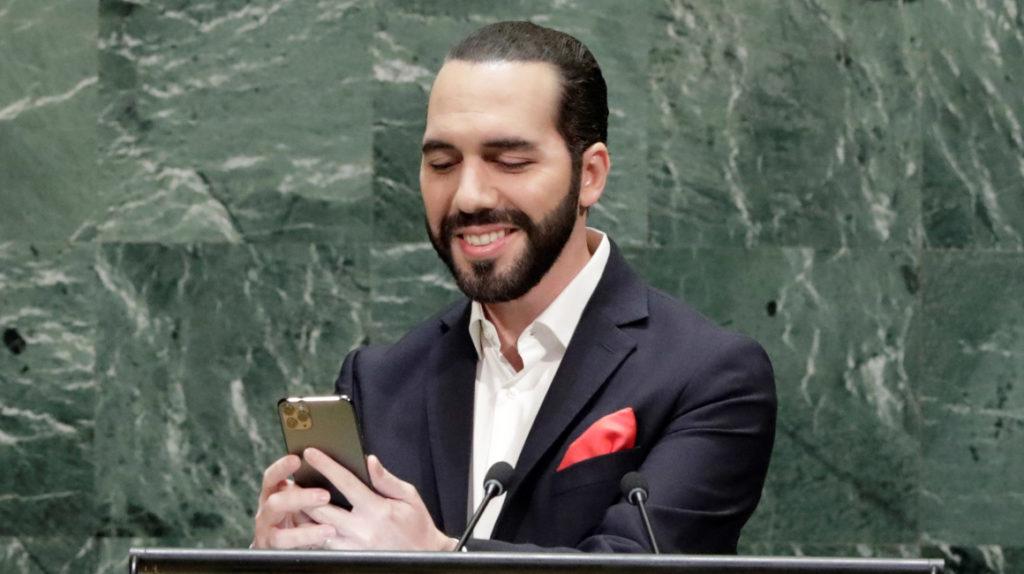 Con una selfie, presidente de El Salvador denuncia obsolescencia de la ONU