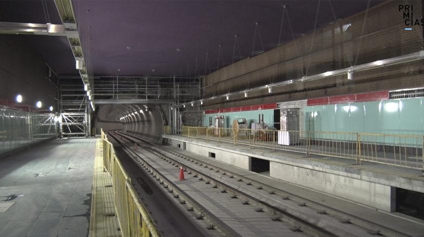 Parada La Carolina del Metro de Quito