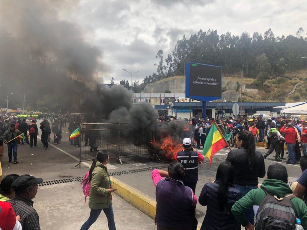 Prefecto de Carchi llama al Vicepresidente a un diálogo para deponer las protestas