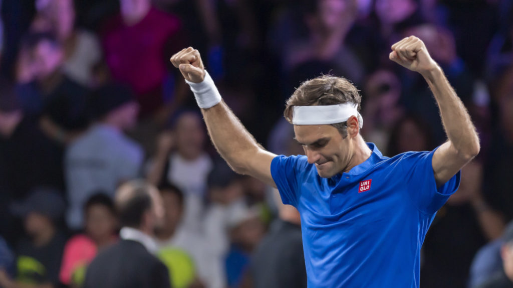 Roger Federer jugará un partido de exhibición en Quito el 24 de noviembre