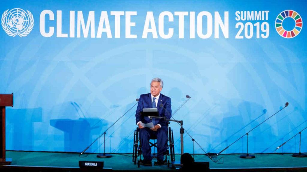 """El calentamiento global pondrá en """"grave riesgo"""" a las Galápagos, advierte Moreno"""