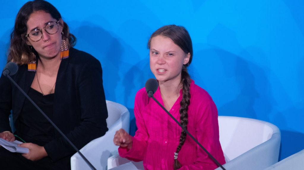 """""""Se robaron mis sueños"""" dice  Greta Thunberg a los líderes mundiales en cumbre de la ONU"""