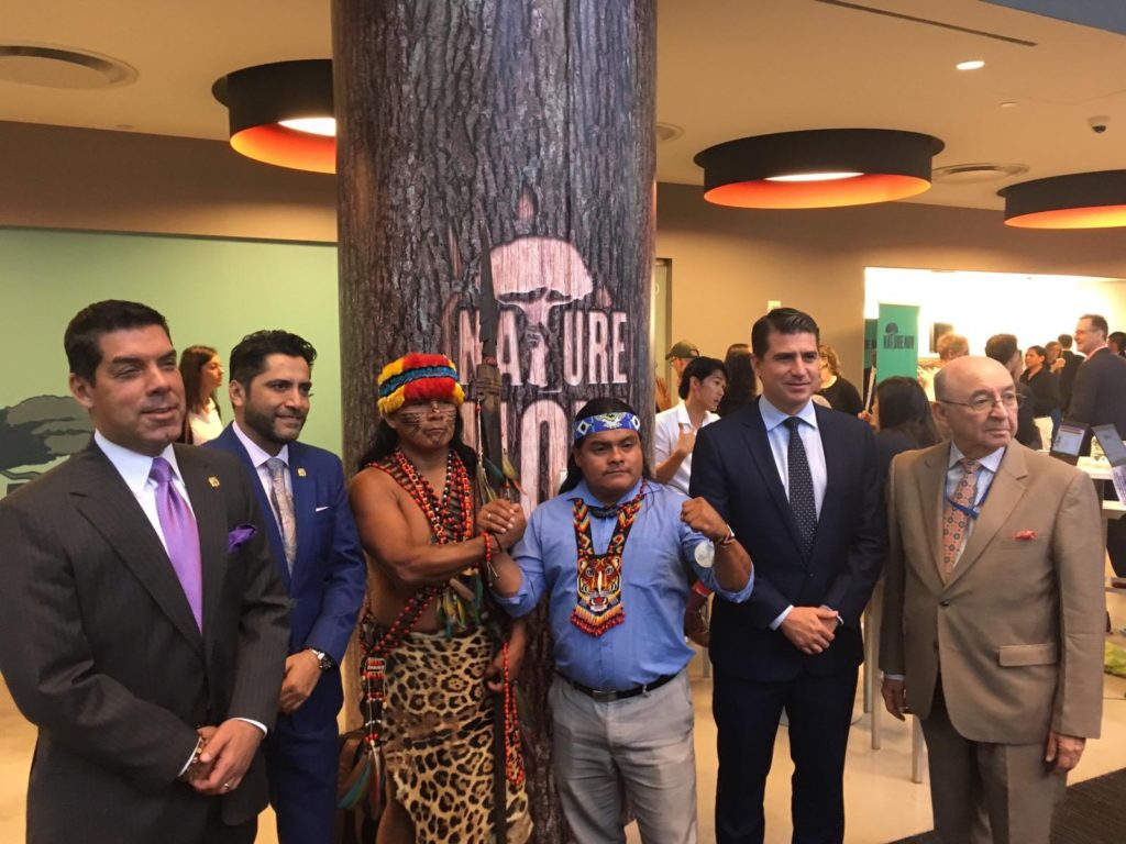 Ministros de Ecuador exponen sobre deforestación y sostenibilidad en Estados Unidos