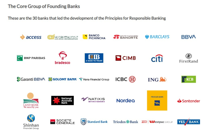 Junto a la ONU, 30 bancos crearon los Principios de Banca Responsable.
