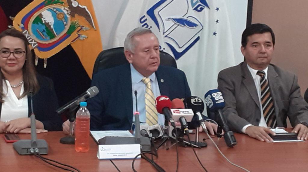 La Universidad de Guayaquil solo ha recibido USD 150.000 para la intervención