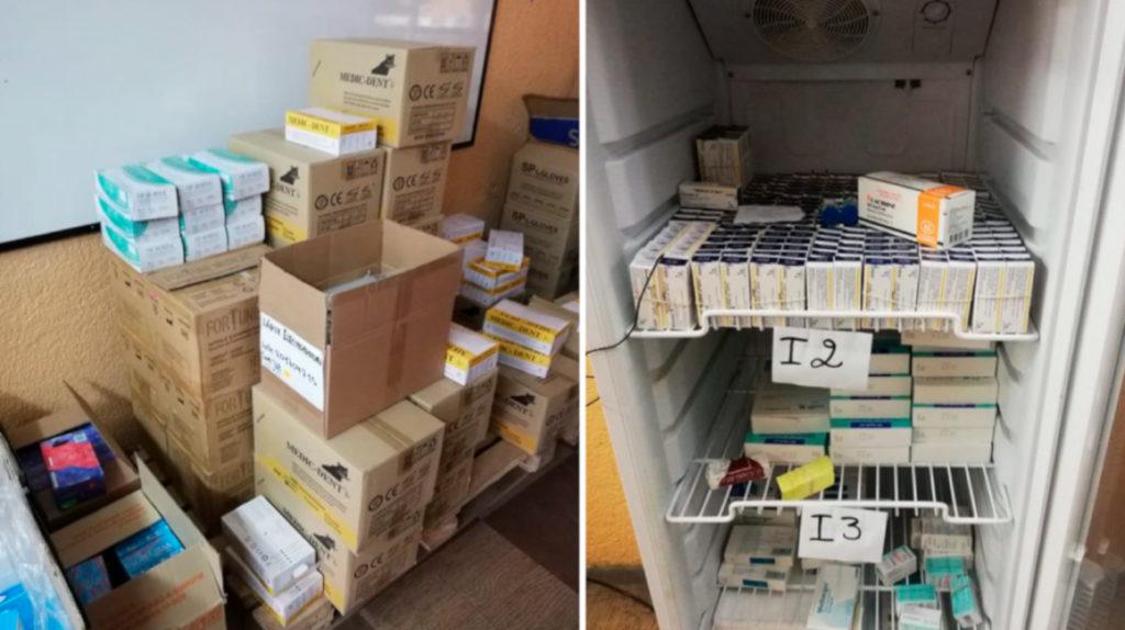 11 detenidos por presunta distribución de medicamentos caducados en Quito