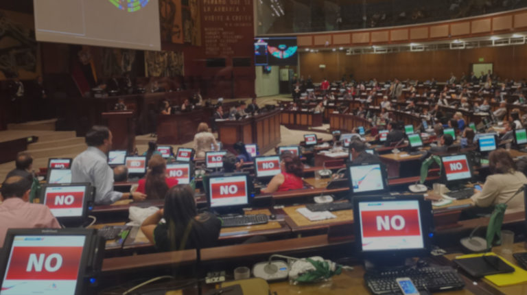 El 18 de septiembre, la Asamblea Nacional no aprobó las reformas penales que modificaban la figura de la incautación.