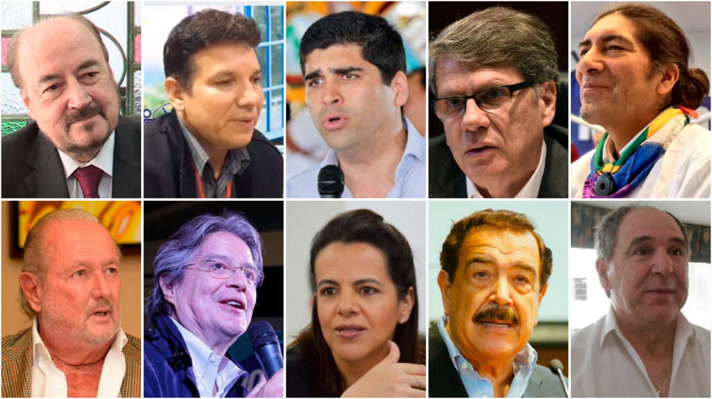 Unos de frente y otros de lado: ya empiezan a aparecer los candidatos presidenciales