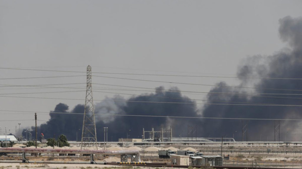 Aramco, la mayor petrolera del mundo opera al 50%, tras ataque terrorista con drones