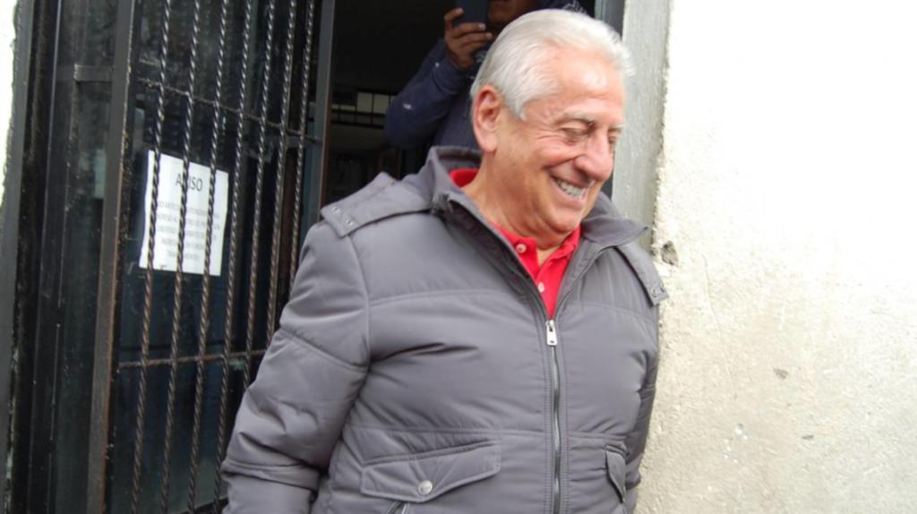 Luis Chiriboga lavó más de USD 6 millones y salió libre en menos de cuatro años