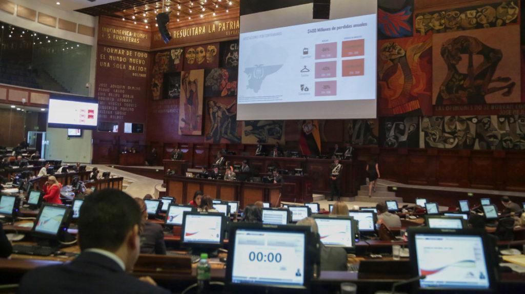 Los partidos grandes se resisten a una reforma electoral que modifica el reparto de votos
