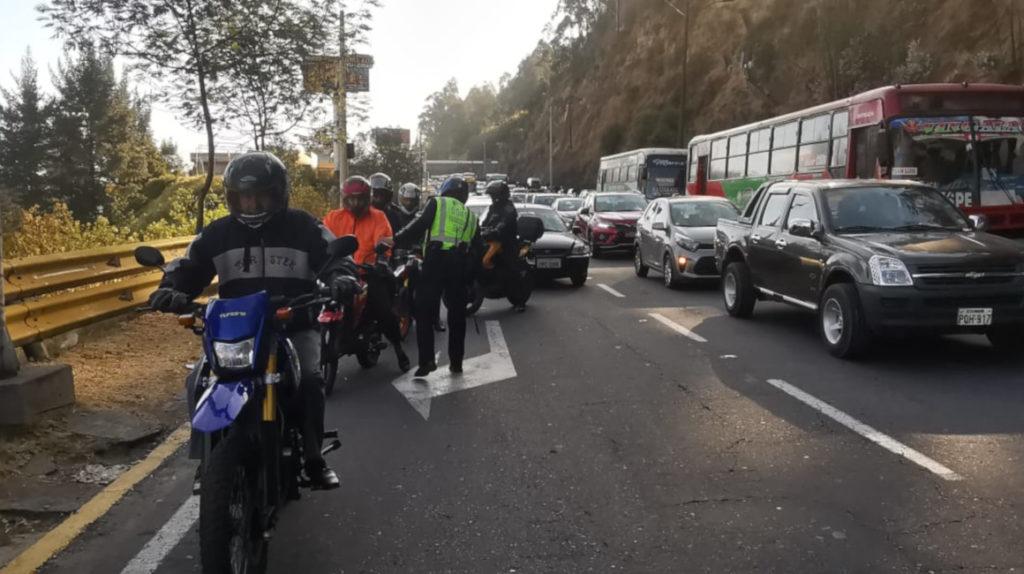 Autopista Rumiñahui estará cerrada cuatro horas este jueves 18 de marzo