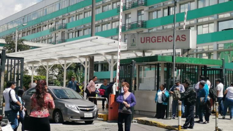 El Hospital Carlos Andrade Marín es uno de los hospitales que pueden tratar el coronavirus.