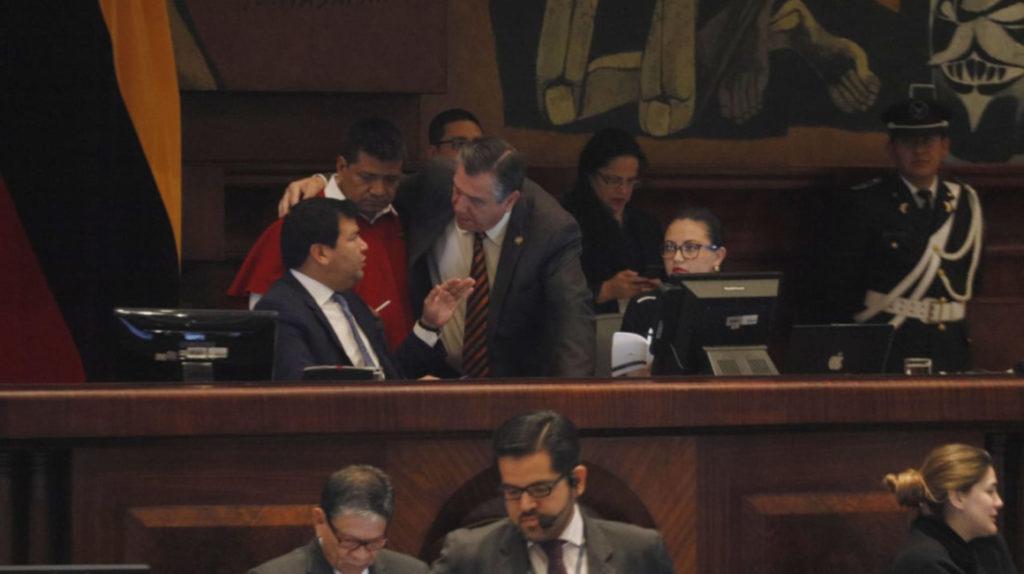 La Asamblea deja a medias el primer debate de la reforma tributaria