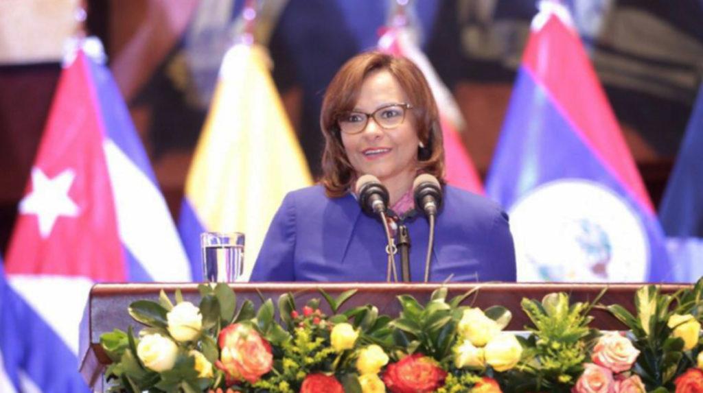 Elizabeth Cabezas asume como presidenta de ParlAméricas