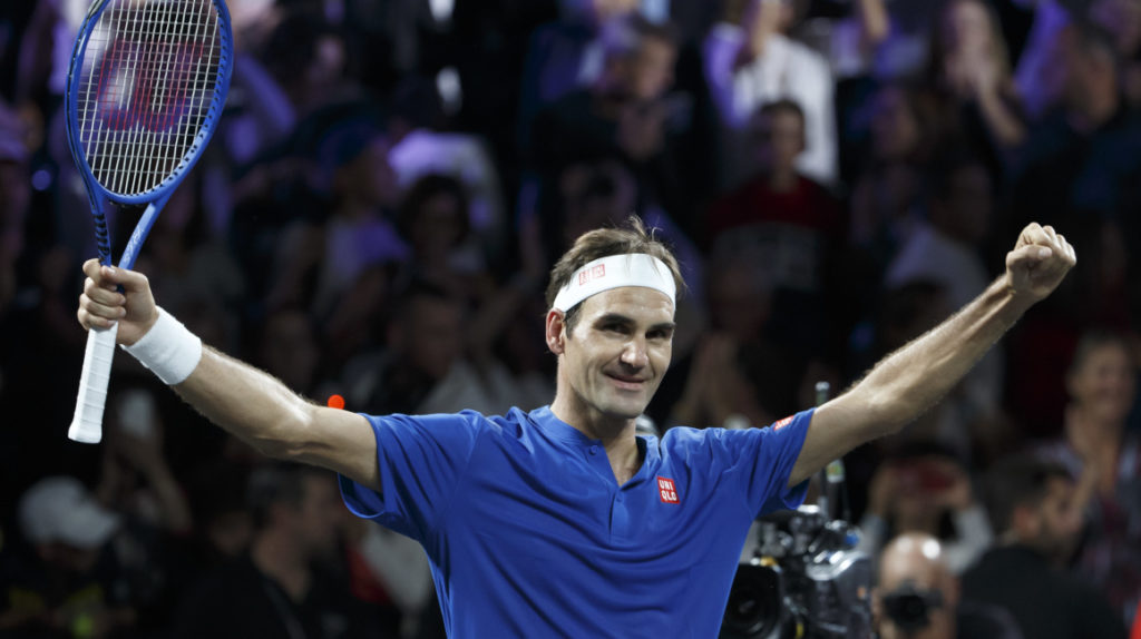 USD 90 costará la entrada más barata para ver a Roger Federer en el coliseo Rumiñahui