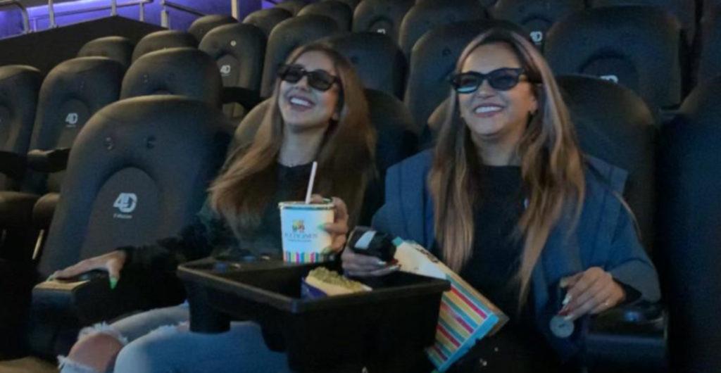 Butacas 4D para ver, oler y sentir las películas