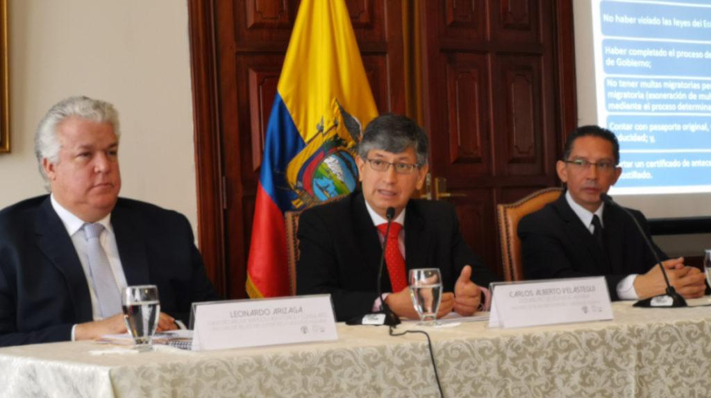 Ecuador y México buscan restablecer exoneración de visado