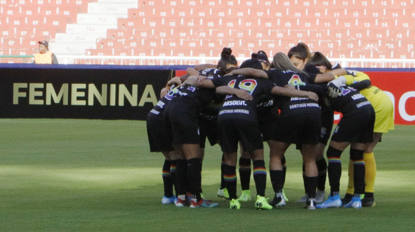 El equipo chileno disputó parte de la fase de grupos en el estadio Rodrigo Paz Delgado.