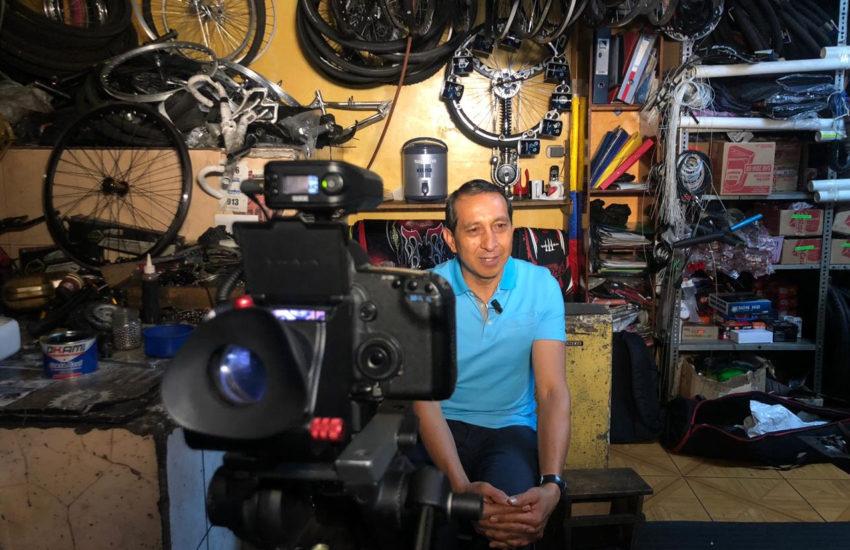 Entrevista a Pedro el 'Águila' Rodríguez, cinco veces ganador de la Vuelta al Ecuador.