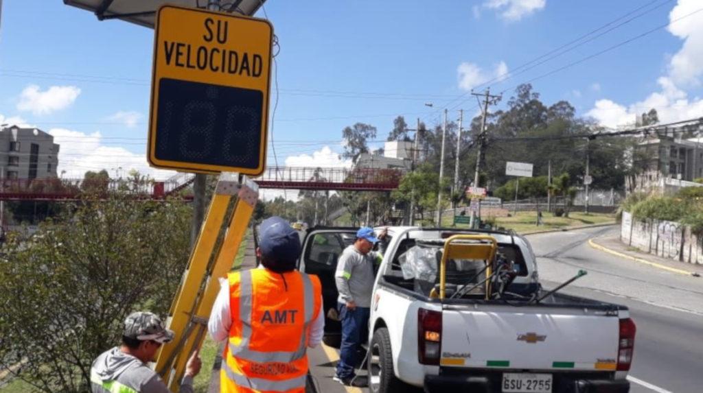 6.963 sancionados en dos meses por exceder límite de velocidad en Quito