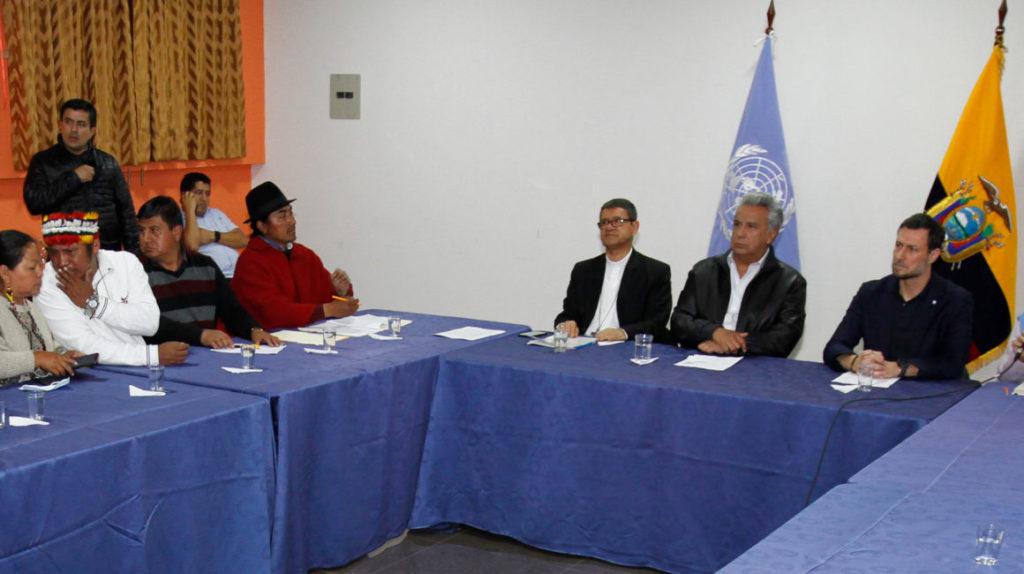 Los indígenas doblan la apuesta y buscan incorporar nuevas exigencias al diálogo